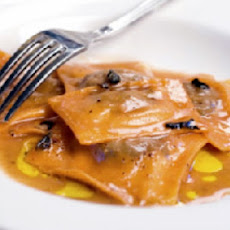 Lobster Ravioli with Lobster Vinaigrette