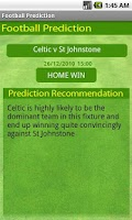 Screenshot of Soccer Prediction Lite