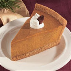 Light and Creamy Pumpkin Pie