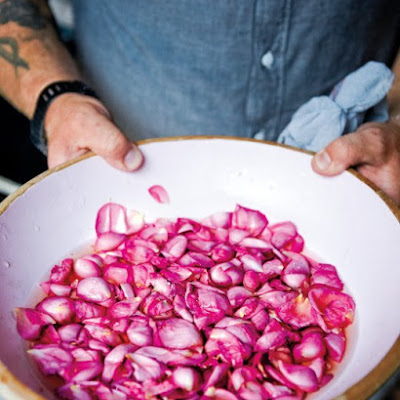 Pickled Rose Petals