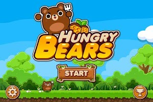 Screenshot of (FREE) Hungry Bears Game