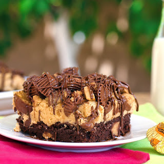 Reese's Peanut Butter Fudge Brownies