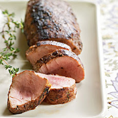 Spice-Rubbed Pork Tenderloin
