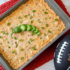 Chile Chicken Enchilada Dip