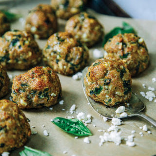 Basil Chicken Meatballs
