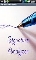 Screenshot of Signature Analyzer Pro