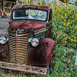 Rustic Truck by Kelly Clark - Transportation Automobiles