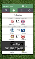 Screenshot of Pocket Liga - Fussball Live