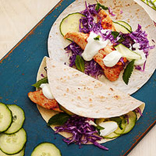 Spicy Chicken Soft Tacos