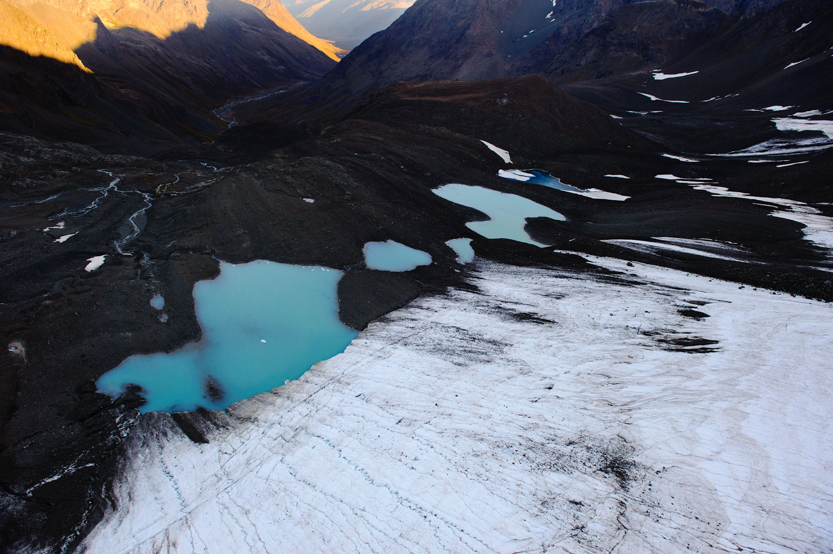 Peters Creek Headwaters, Near Anchorage Alaska