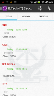 SKED - screenshot