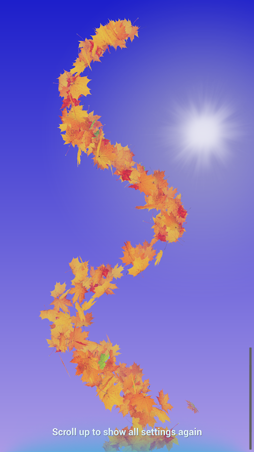 Autumn Leaves Live Wallpaper Screenshot 10