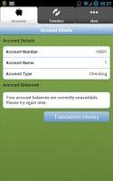 Screenshot of P&G Credit Union