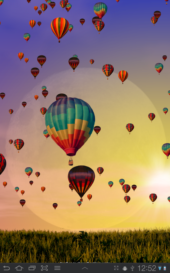 Hot Air Balloons Wallpaper Screenshot 7