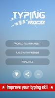 Screenshot of Typing Race