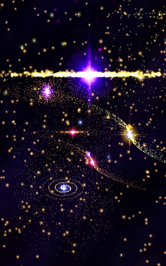 3D Stars Music Visualizer Screenshot 5