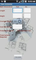 Screenshot of Construction Calculator