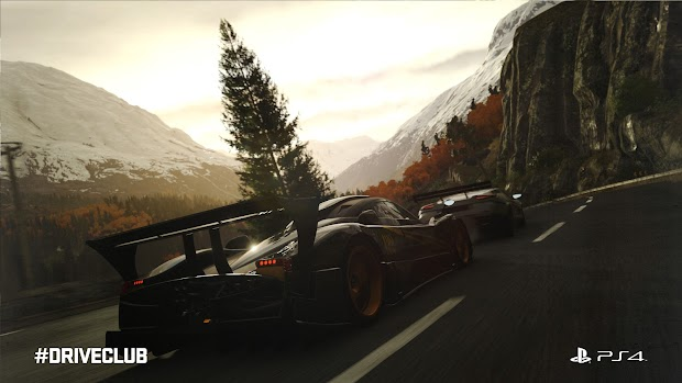 Evolution reveals the dynamic menu, the reason for Driveclub's delay