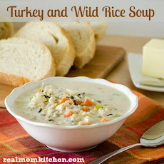 Turkey (or Chicken) and Wild Rice Soup