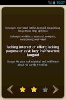 Screenshot of GRE WordPrep Vocab Flashcards