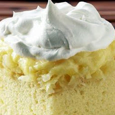 Pineapple Pudding Cake  Cake Mix Cake