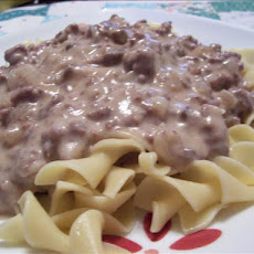 Easy, Creamy Hamburger Stroganoff