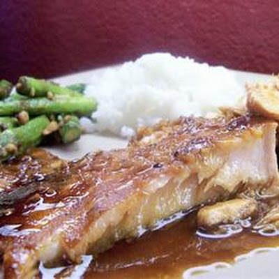 Salmon Teriyaki Bake