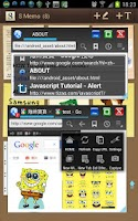Screenshot of Floating Browser