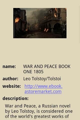 WAR AND PEACE BOOK ONE 1805