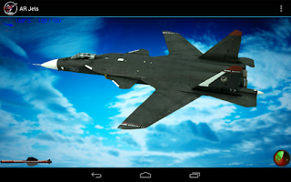 Screenshot of AR Jets: Battlefield Fighters