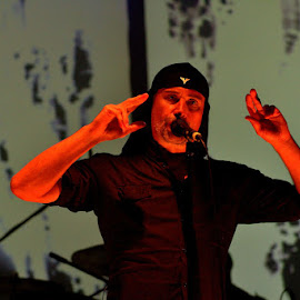 Milan Fras-Laibach by Iztok Urh - People Musicians & Entertainers