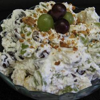 Grape Banana Salad