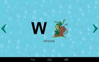 Screenshot of Alfabet dla dzieci, polski