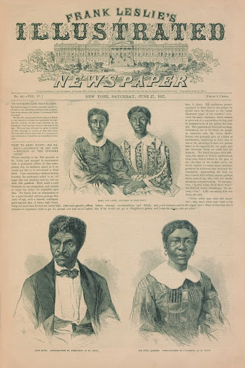After being manumitted in 1857, Dred Scott worked as a porter in a St. Louis hotel until his death in September of 1858. Until her death in 1876, Harriet worked as a laundress in St. Louis and raised their daughters as free women.