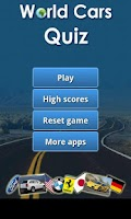 Screenshot of World Cars Quiz