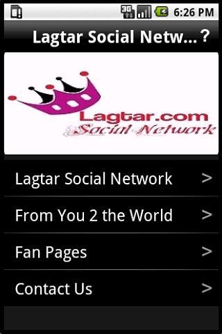 Lagtar Social Network