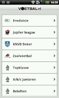 Screenshot of Voetbal.nl