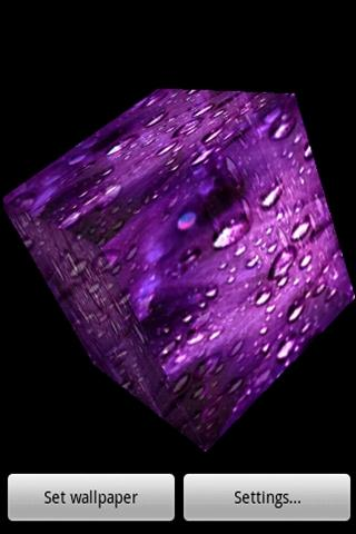 3D 水滴