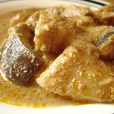 Eggplant In Curry-Coconut Sauce