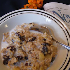 Crock Pot Fruited Oatmeal