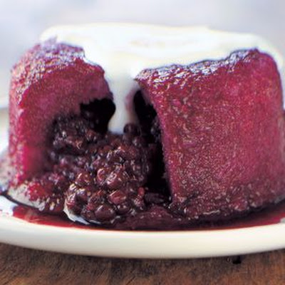 Blackberry Summer Puddings