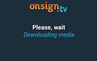 Screenshot of OnSign TV – Digital Signage