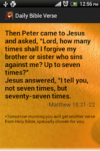 Holy Bible quotes daily free - screenshot