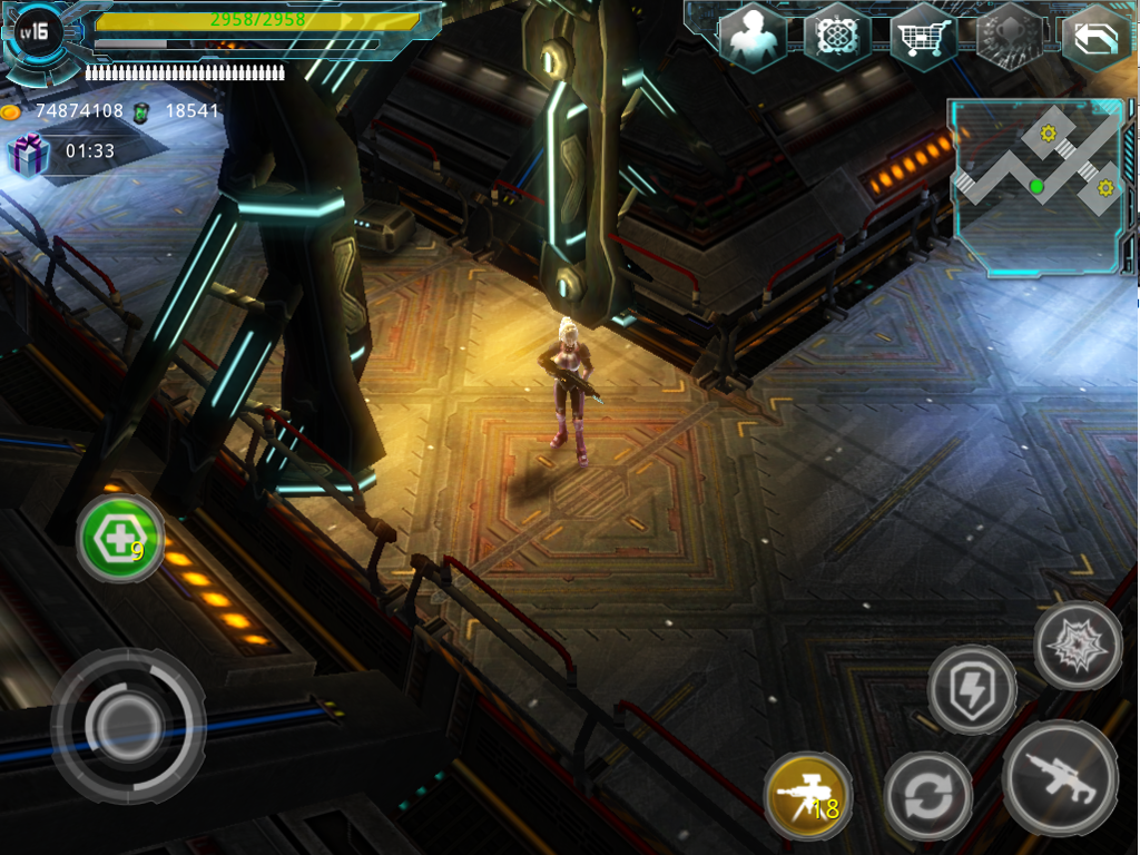 Alien Zone Plus Screenshot 9