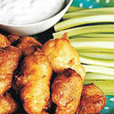 Buffalo Popcorn Chicken Bites