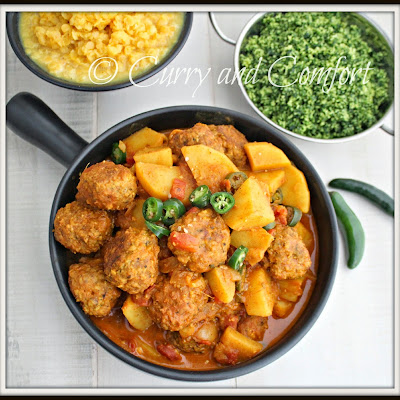 Meatball and Potato Curry (Throwback Thursday)
