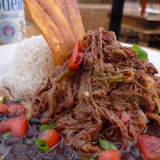 Braised Beef, Peppers and Onions: Ropa Vieja