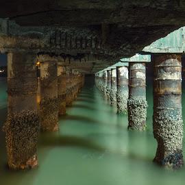 Hidden visions by Leo Fardin - Buildings & Architecture Decaying & Abandoned ( port, water, shipwreck, sea, marina, bridge, coast,  )