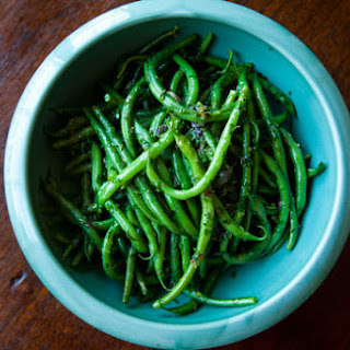 French Green Beans with Butter and Herbs