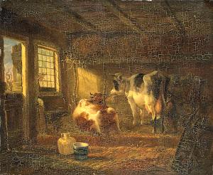 RIJKS: Jan Kobell (III): painting 1830
